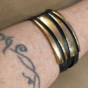 🇨🇦SHIPS 4 $9.99🌞 Leather Triple Strap bracelet